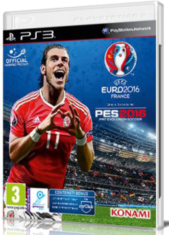 [PS3] Pro Evolution Soccer 2016: UEFA EURO 2016 France (2016) - FULL ITA